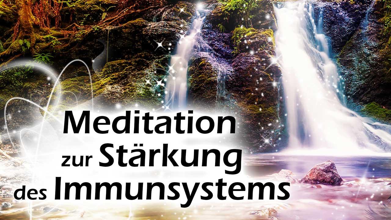 Meditation Stärkung des Immunsystems